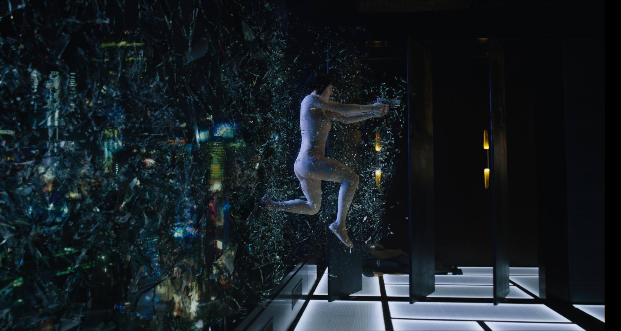 《攻壳机动队》(真人版)——寡姐最强body 娱乐影评 第3张